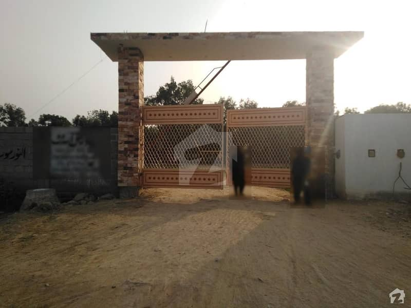 Al-Noor Multipurpose Cooperative Society Limited - Sector 54-A 120 Sq. yd Corner Plot For Sale