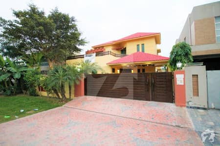 Spanish Style One Kanal Slightly Used Modern Villa Near HKB And H Park Most Prime Location
