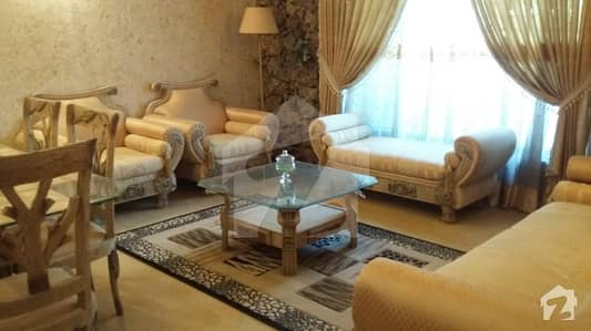 4 Bed Fully Furnished  With Double Storey House Is Available For Rent State Of The Art House Measuring 200 Sq Yd