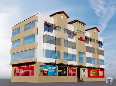 One bed Luxury Appartment for Sale Two years easy installments Down payment 30% R. B HEIGHTS Sec F DHA 1 Islamabad