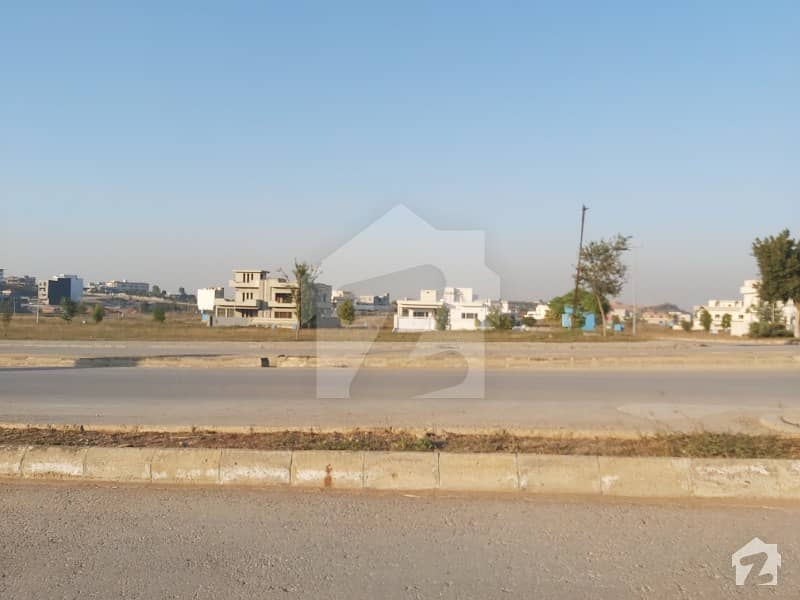 500 Sq Yards Level Plot Back Open Top Height In Sector C DHA Phase 5 Islamabad