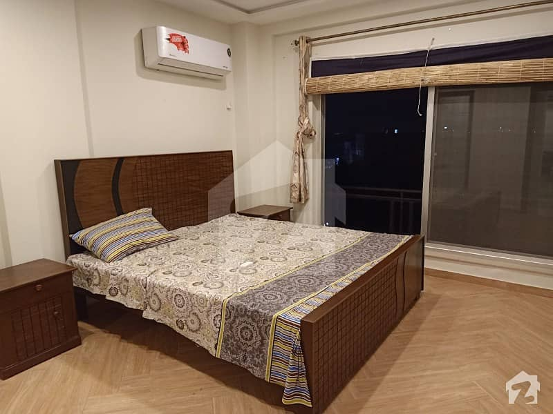 Fully Furnished Beautiful 530 Square Feet Flat available for rent in Sector C Bahria Town