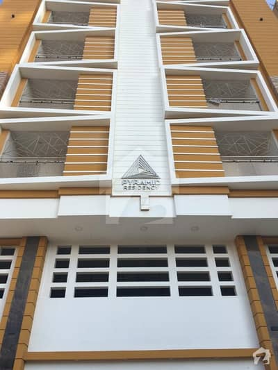 3 Bed Apartment For Rent In Pyramid Residency Block 1 Clifton