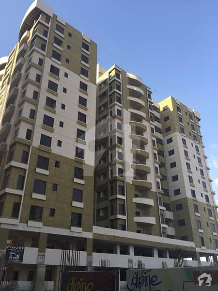 3 Bed DD Flat For Sale in VIP Project Alpine Plaza Johar Block 10