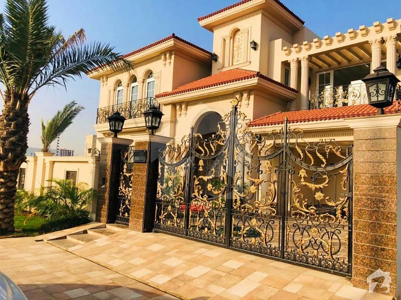 1 Kanal Brand New Beautiful Spanish Design Bungalow In DHA Defence Phase 6 Outclass Location