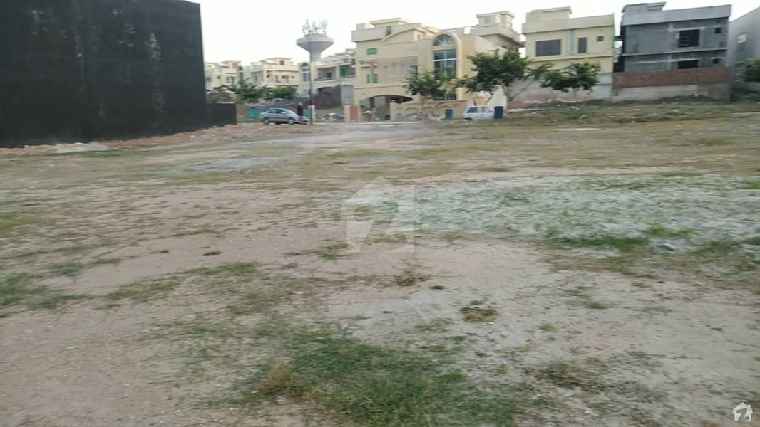 Sector A 10 Marla Street 15 Margalla Facing Possession And Extra Land Paid Plot For Sale