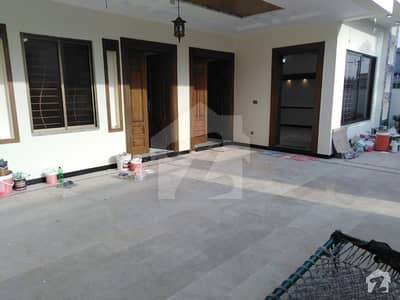 Brand New 12 Singal Storey  Marla House Is Available For Sale In Cbr Town Phase 1 Islamabad