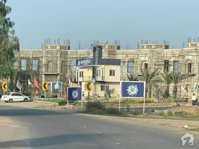 8 Marla Residential Plot File Is Available On Installments In Blue World City Rawalpindi