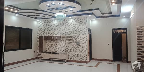 Out Class Amazing Locality Brand Newly 400 Sq Yard Double Storey House It Is An Block 3 Gulistan_E_jouhar Independent House 2019