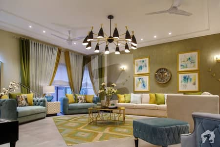 2 Kanal Brand New Furnished Most Stylish Bungalow For Sale In DHA Lahore Furnished By Wing Chairs  Originally Design By Mazhar Munir