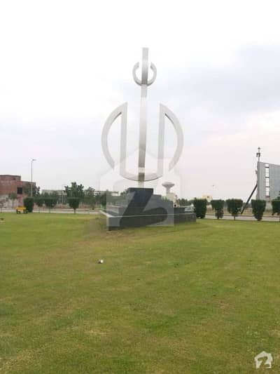 Ideal 10 Marla Plot For Sale In Iris Block Sector C Bahria Town Lahore