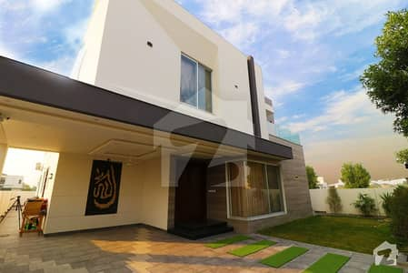 Brand New Elegant Modern Design Kanal Fully Furnished Luxurious Bungalow