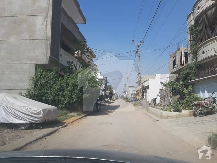 Corner Plot 192.67 Sq Yards At Saadi Town Block 7 Scheme 33 Karachi