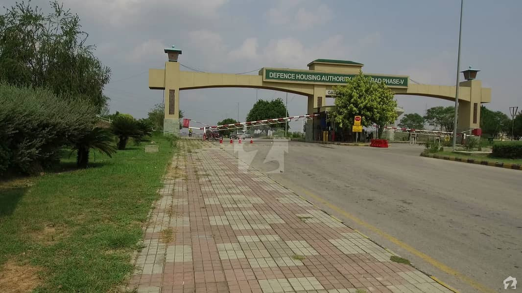 Signature Properties Offer You Beautiful  Plot On Prime Location  In   Sector F 10 Marla Dha Phase 5 Islamabad