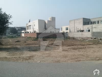 01 Kanal Possession Plot Available For Sale In Dha Phase 7 W Block