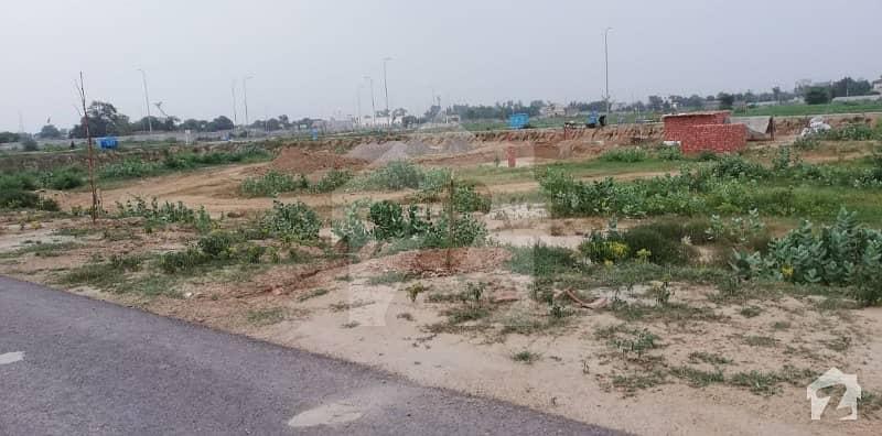 Phase 8 Block S 1 Kanal Facing Park Residential  Plot For Sale