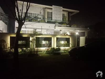 One Kanal Brand New Elegant Design Palace With Basement In Phase 5 DHA Lahore