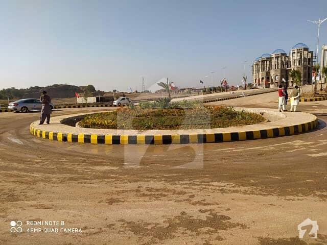 بلیو ورلڈ سٹی چکری روڈ راولپنڈی میں 5 مرلہ پلاٹ فائل 65 ہزار میں برائے فروخت۔