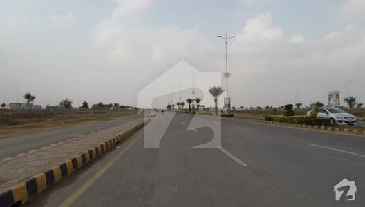 Facing Park Plot For Sale In DHA Phase 8