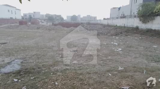 2 Kanal Residential Plot Is Available For Sale In DHA Phase 8 Block E Lahore