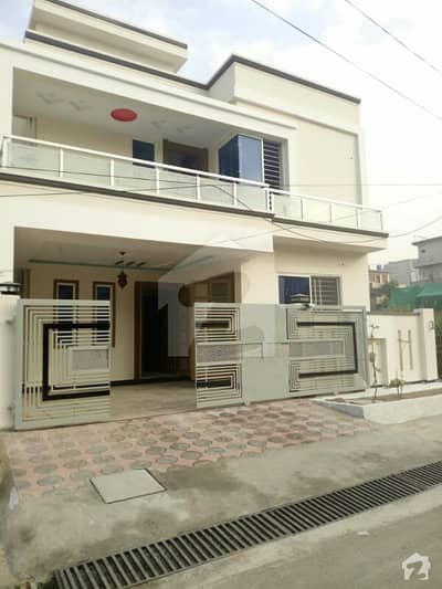 Brand New Luxury Lush Double Storey 7 Marla House For Sale In Cbr Islamabad