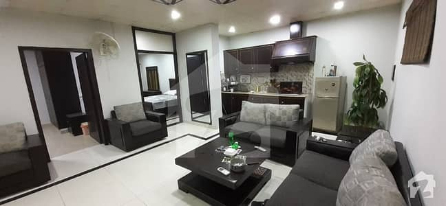 Fully furnished flat short long term available ground all factiles available