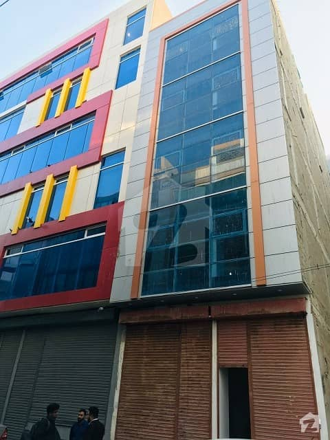 100 Yards Brand New Office Building Available For Sale