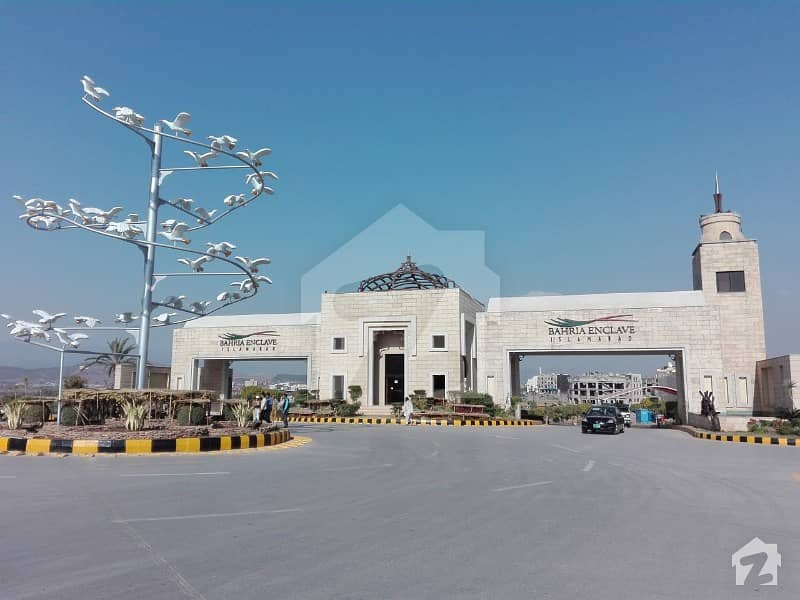Bahria Enclave Sector F 8 Marla Park Face Plot Is Available For Sale Prime Location