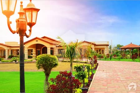 4 Kanal Semi Developed Farmhouse Plot For Sale In Gulberg Greens Islamabad