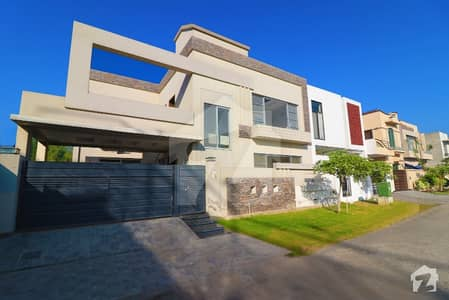 10 Marla Brand New Double Unit Double Storey Mazhar Munir  42 Feet Front Elevation  Solid Construction Bungalow For Sale Block D Phase 6 Dha Defence Lahore