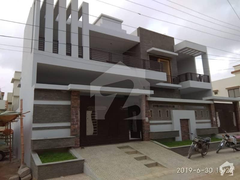 Super Luxury 400 Sq Yards Double Storey House In Block 3 Saadi Town