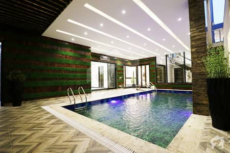 Full Basement With Classical Swimming Pool House For Sale In Prime Location