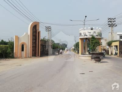 1 Kanal Residential Plot File is Available For Sale In Dc Colony Extension 3 Gujranwala