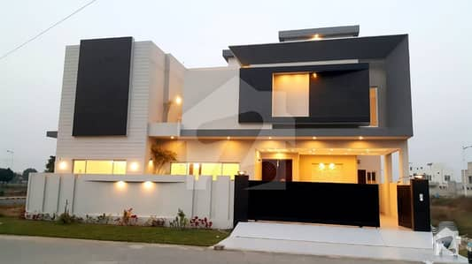 10 Marla Brand New Corner House For Sale Bankers Avenue Cooperative Housing Society Adjacent DHA Phase 7 Lahore