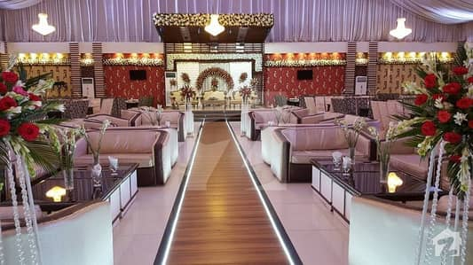800 Square Yards Furnished Banquet For Sale