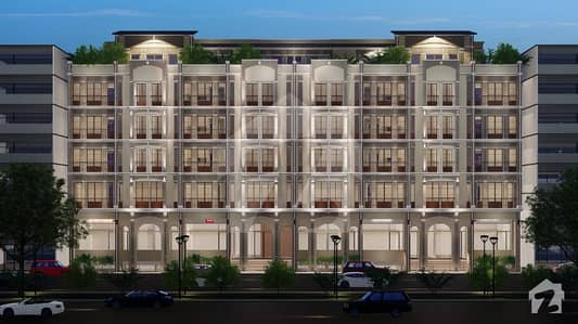Sky Heights  Bahria Enclave Islamabad the best Ever Commercial