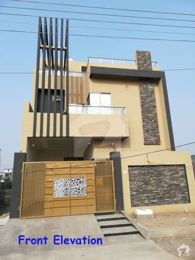 5 Marla Double Story Beautiful House for Sale In Arslan Block SA Gardens Lahore