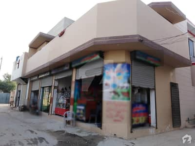 3 Marla Corner Commercial Flat With Shops For Sale