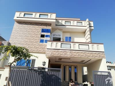 7 3060 Marla Brand New Double Story House for Sale in CBR Town Phase 1 near Media Town Police Foundation Soan garden Bahria Town Islamabad