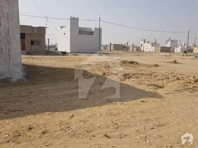 گلشنِ معمار - سیکٹر کیو گلشنِ معمار گداپ ٹاؤن کراچی میں 3 مرلہ رہائشی پلاٹ 44 لاکھ میں برائے فروخت۔