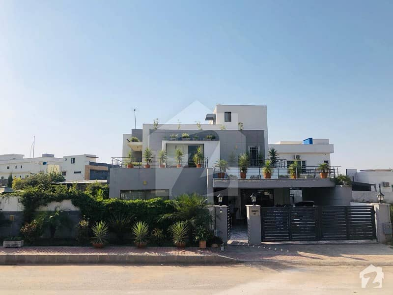 2 Kanal 3 Marla Fully Furnished Corner House At Bahria Town