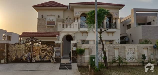 One Kanal Attractive Spanish Bungalow For Sale In Phase 6 Dha Defence