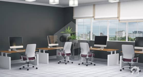 Furnished Office for Sale in 4 Year Easy Installment Possession in 3 Years
