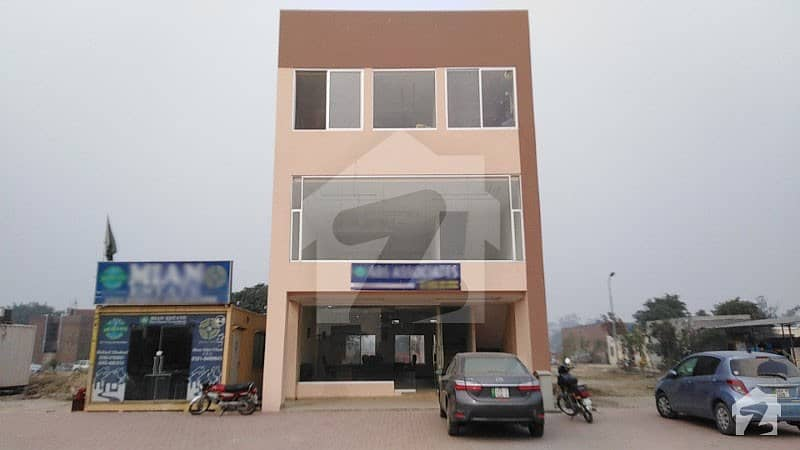 1000 Sq Feet Ground Floor Office For Sale In A Block Of Al Kabir Phase 2 Lahore 2 Side Open