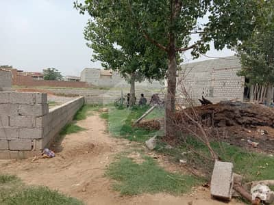 01 Kanal Corner Plot Is Available For Sale On Akbar Chowk Near By Main Girja Road