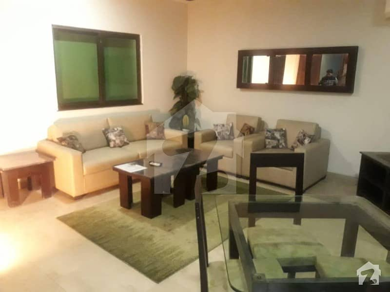 Fully Furnished 4 Marla 01 Beds Lavish Flat Available For Rent In Dha Phase 5