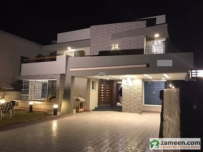 Dream House Waiting For You 20 Marla Brand New 5 Bed Rooms Lavish Straight Elevation House For Sale