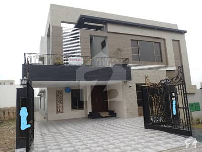 One Kanal Brand New Modern Luxury House For Sale In Bahria Town Lahore  With At Prime Location