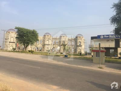 بلیو ورلڈ سٹی چکری روڈ راولپنڈی میں 5 مرلہ رہائشی پلاٹ 8 لاکھ میں برائے فروخت۔