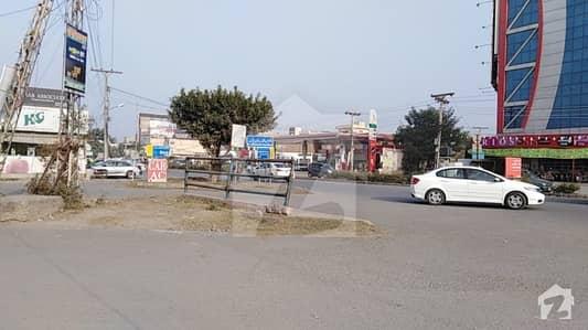 2 Kanal 7 Marla Corner Commercial Plot Available For Sale In Tikka Chowk Johar Town Lahore
